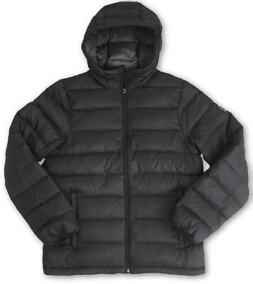 Abercrombie and Fitch Lightweight Hooded Down Black Puffer Jacket £140 - Medium