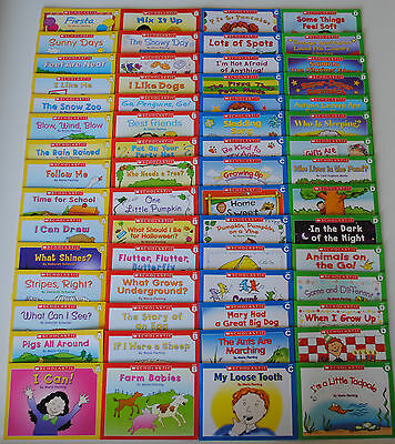 LOT 60 First Little Easy Readers SET Kindergarten Grade 1 Homeschool Level ABCD