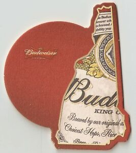 10-Budweiser-New-Hampshire-State-Beer-Coasters-Die-Cut