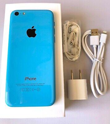 iPhone 5C Blue Unlocked 16GB AT&T TMobile Metro