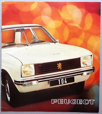 V03661 PEUGEOT 104 BERLINE