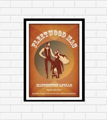 Fleetwood Mac Concert Poster
