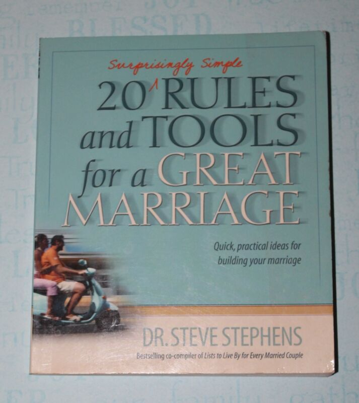 20 Surprisingly Simple Rules and Tools for a Great Marriage, Paperback
