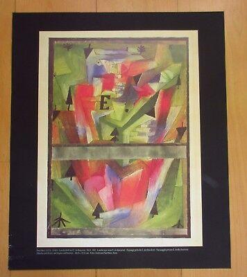 Paul Klee 2xPrint Poster Drucke