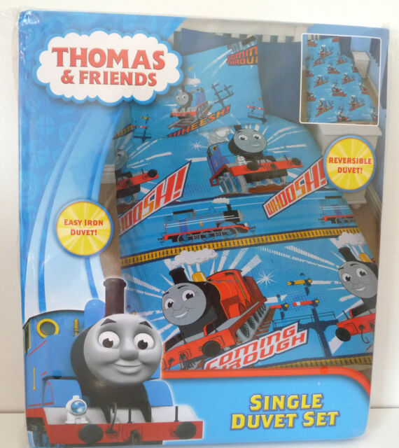 Thomas and Friends Single Reversible Quilt/Doona Cover Set