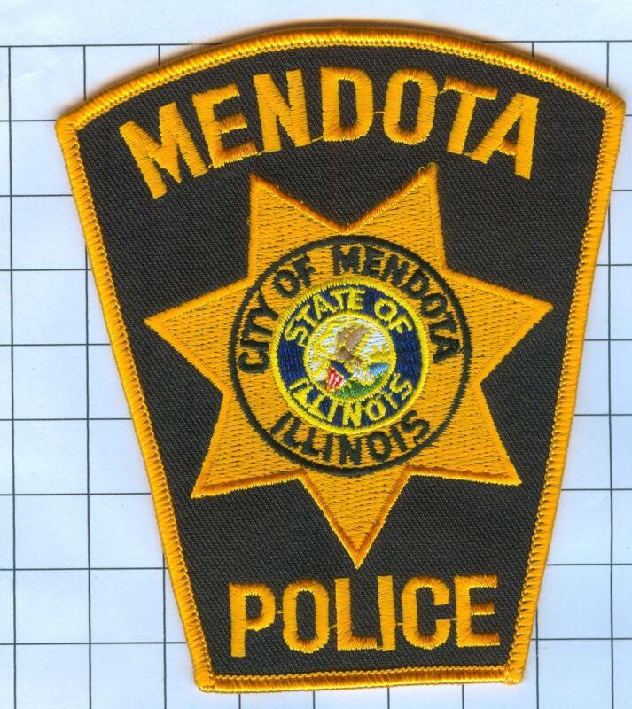 Police Patch - Illinois - CITY OF MENDOTA ILLINOIS
