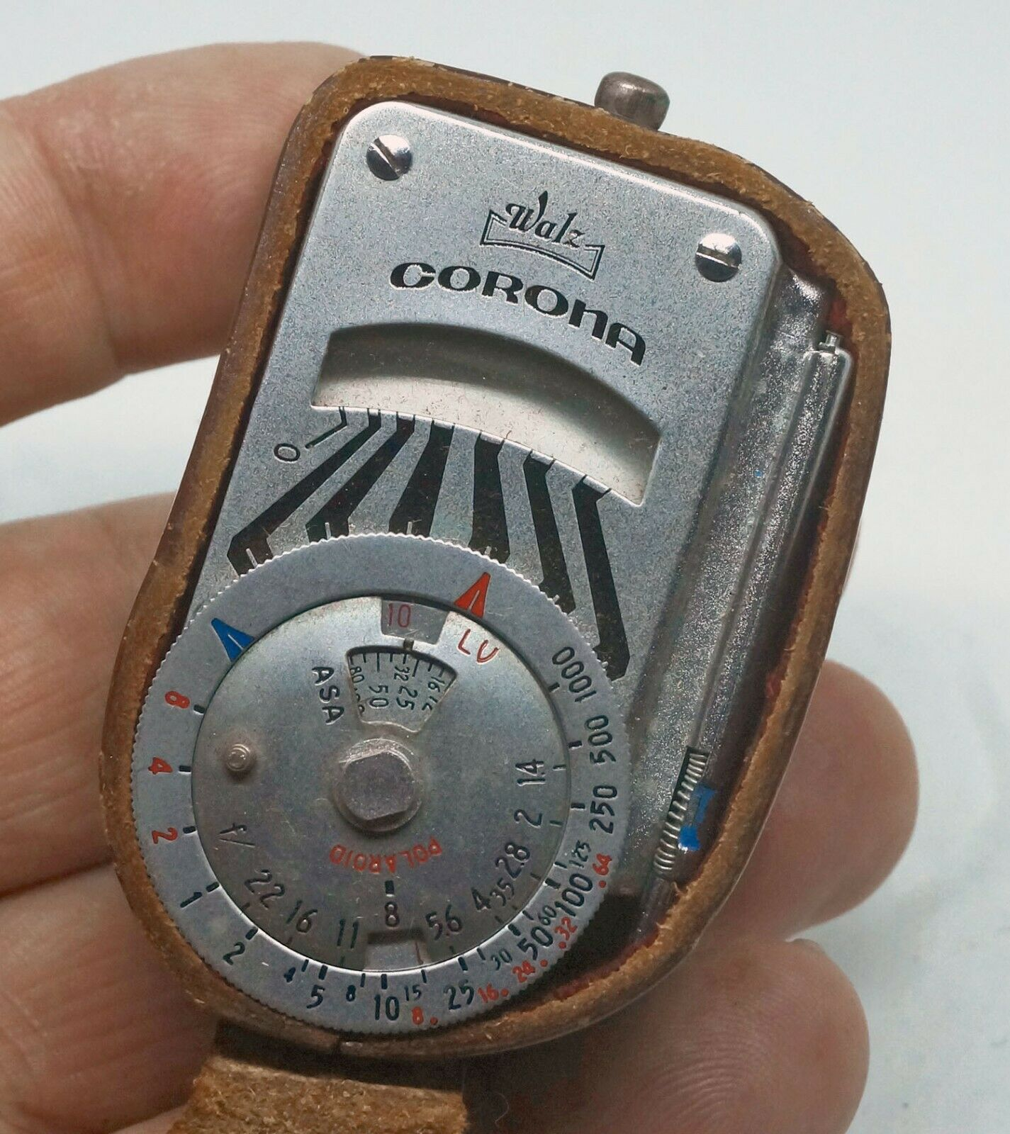 Vintage Miniature On-camera EXPOSURE METER Waltz Corona 03-0049  - $15.00