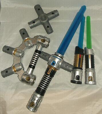 Star Wars - Lightsaber Toy - Pop up - Blade Builder Bundle - Sounds - Jedi