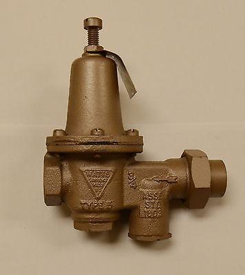 Watts Regulator Co. - 34 Inch U5b Water Reducing Valve And Strainer Nos
