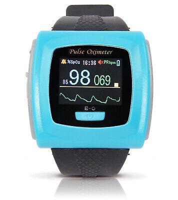 Wrist Pulse Oximeter Heart Rate Monitor Spo2 Oxygen Saturation For Sleep Apnea