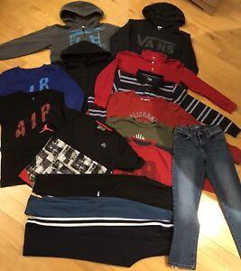 Lot vêtements garçon  10-12 ans en bon état!