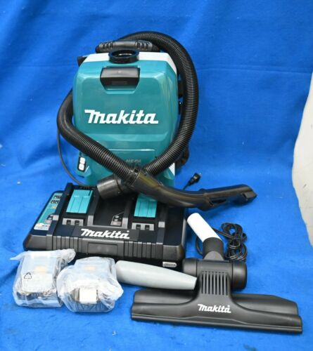 Makita 36-Volt Lithium-Ion Backpack Vacuum Kit XCV09PT