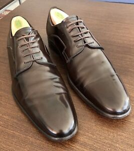 Dolce and Gabbana Men's Dark Brown Shoes - 100% Authentic