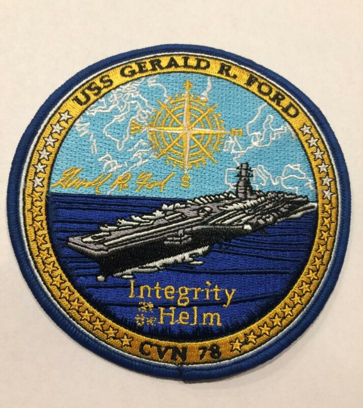 Patch of USS GERALD R. FORD (CVN 78)