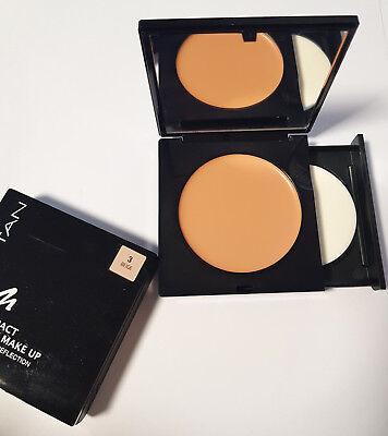 Manhattan Compact Cream Make Up mit Licht Reflection Foundation 3 Beige