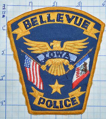 IOWA, BELLEVUE POLICE DEPT PATCH