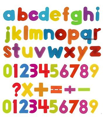 Kids Learning Teaching MAGNETIC Toy Letters & Numbers Fridge Magnets Alphabet