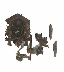 River City Clocks One Day Hand-Carved Cuckoo Clock  Model  11 09