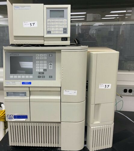 Waters 2690/2695 Alliance HPLC with  2487 Detector and Column Heater