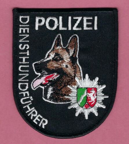 GERMAN POLIZEI POLICE SERVICE K-9 HANDLER PATCH