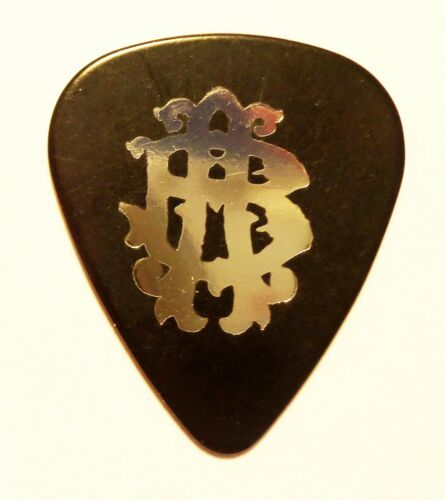 Nickelback Logo Single-Sided VIP Black/Silver Foil Guitar Pick