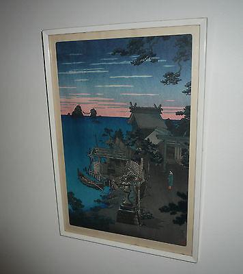 EARLY GENUINE WOODBLOCK PRINT BY TSUCHIYA KOITSU 1870-1949