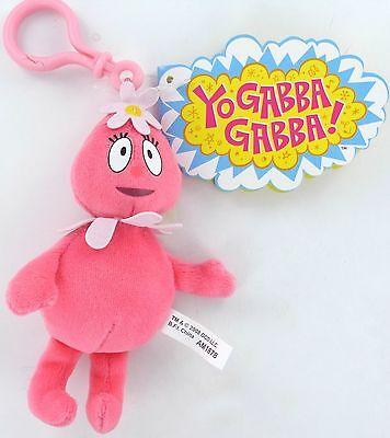 YO GABBA GABBA Plush FOOFA Clip-On Toy Nick Jr. Basic Fun Wildbrain Magic Store (Nick Jr Store)