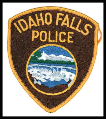 """Idaho Falls Police 4.25"""" x 5"""" Embroidered Patch"""