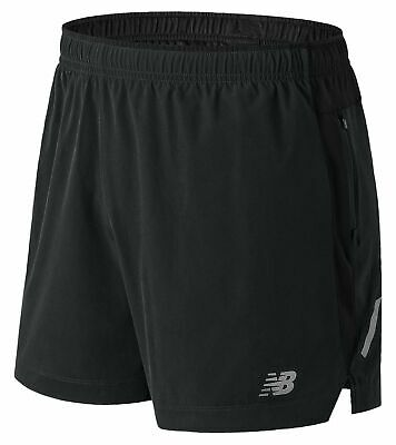 New Balance Men's Impact 5 Inch Short Black