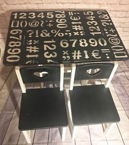 KidKraft table and chairs