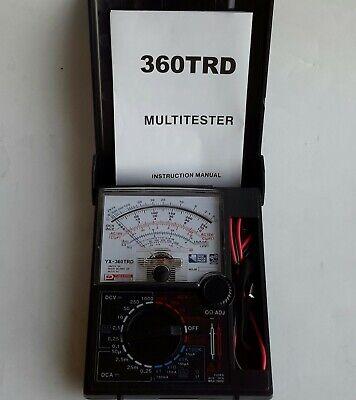 Analog Multimeter Yx-360trd
