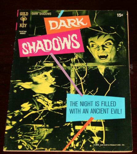 Dark Shadows #6 (1970) VF 50% and I Combine Shipping