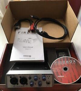 Interface d'enregistrement Presonus Firebox  24-bit/96k FireWire