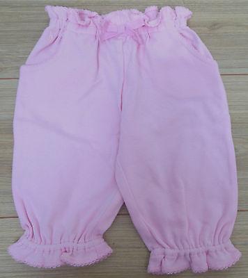 Ralph Lauren baby girl pink soft trousers pants 3-6 m BN New designer
