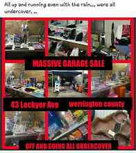 garage sale  today everything must go Werrington Penrith Area Preview