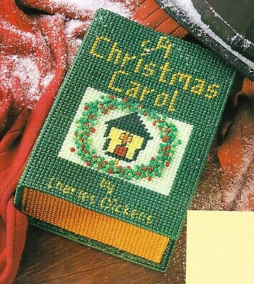 CHRISTMAS CLASSIC BOOK STORAGE BOX PLASTIC CANVAS PATTERN INSTRUCTIONS Box Plastic Canvas Pattern