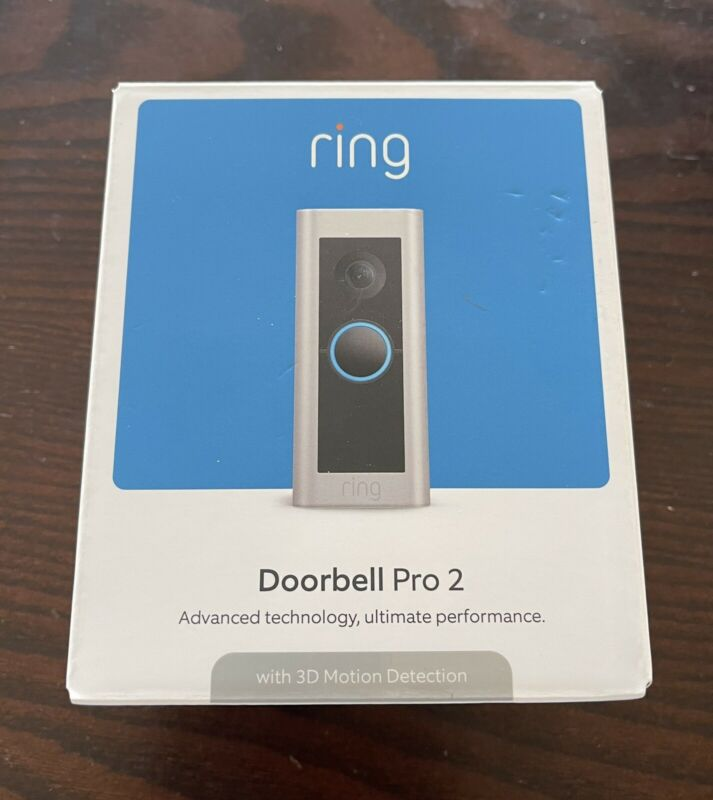 Ring Video Doorbell Pro 2 (2nd Gen) 2021 Release! 1536p HD - FACTORY SEALED!