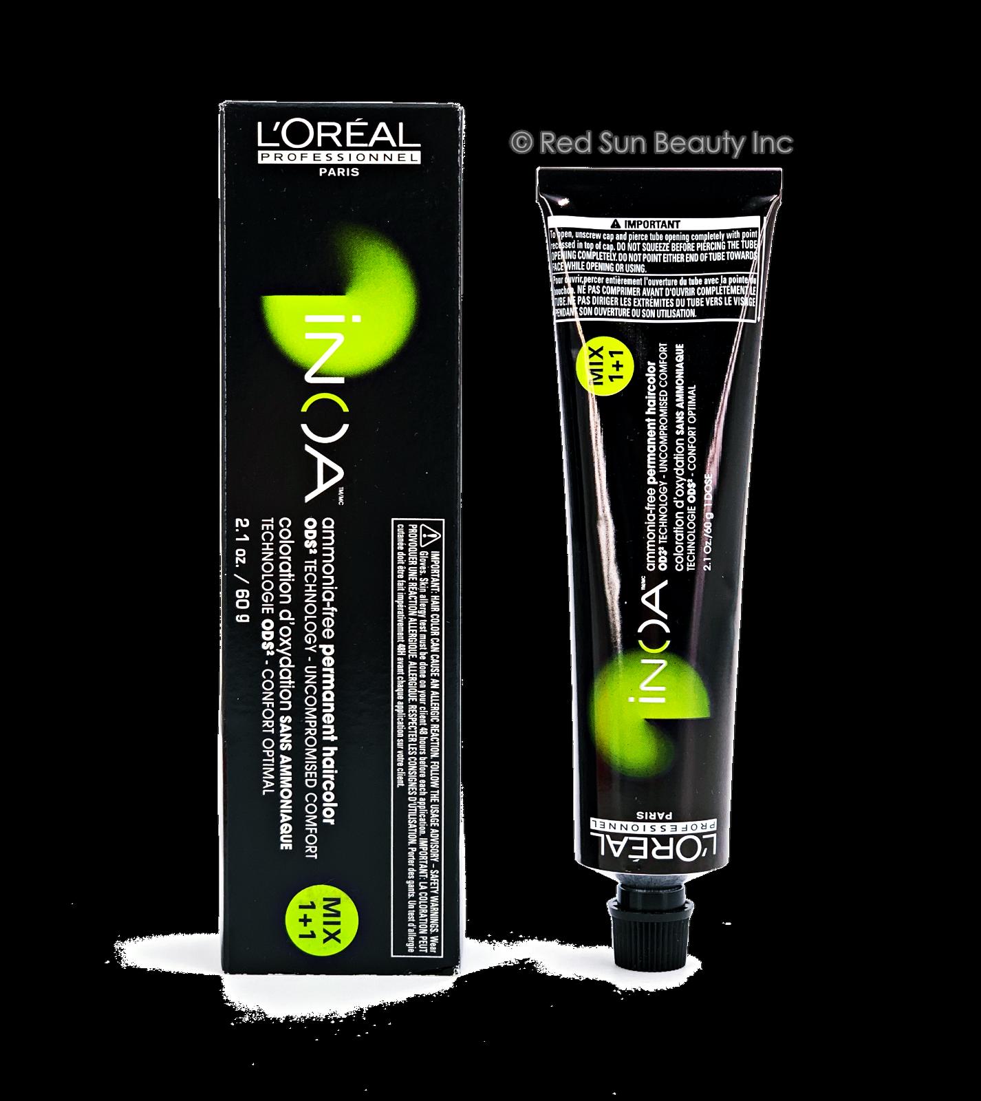 LOreal Professionnel INOA Ammonia Free Hair Color 2.1oz OR D