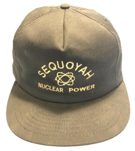 SEQUOYAH Chattanooga Tennessee NUCLEAR POWER PLANT Baseball Hat Cap ATOMIC