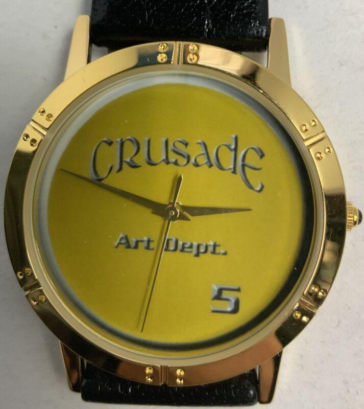Babylon 5 Crusade Water Resistant Quartz Watch With Felt Case Art Dept Crew Gift