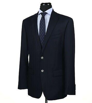 Joseph Abboud Loro Piana 120's Wool Blazer Sport Coat Navy Blue Size 40L