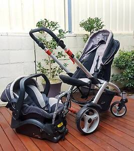 SteelCraft Travel System - Pram + Capsule Woonona Wollongong Area Preview