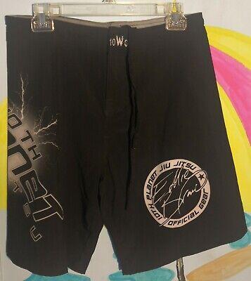 10th Planet Jiu Jitsu Shorts Eddie Bravo White Size 32 BJJ New