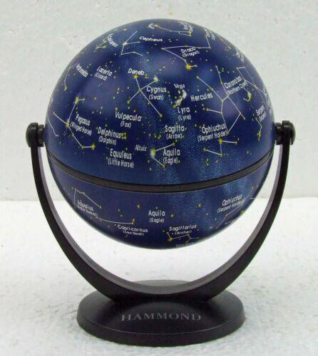 Vintage Desk Top Stars & Constellation Globe X & Y Axis Stellanova 2000