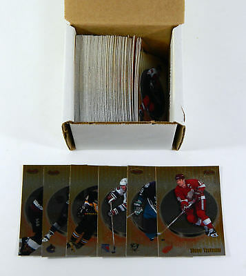 1998-99 Bowman's Best Hockey Set without SPs (100) Nm/Mt Gretzky Roy