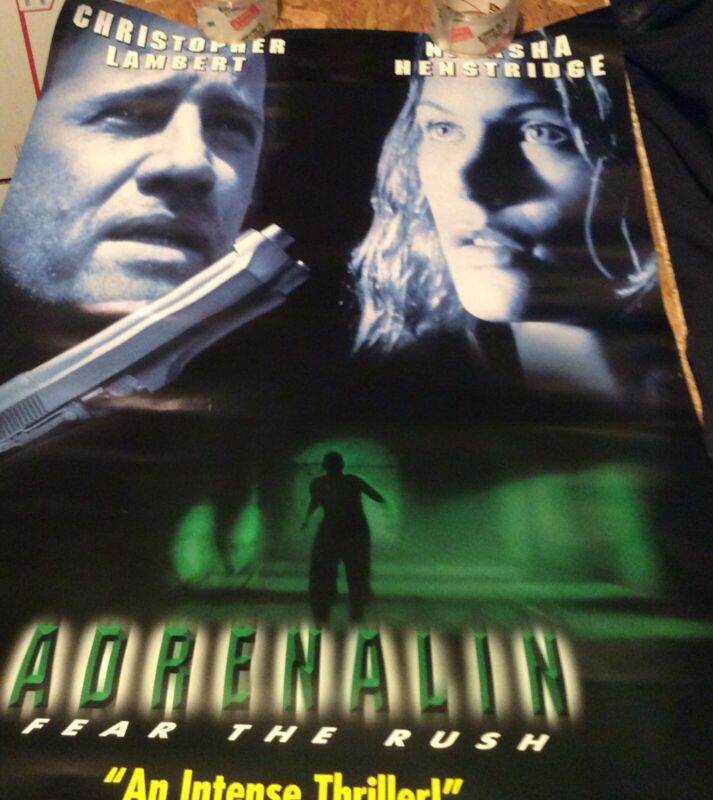 adrenalin promo poster excellent