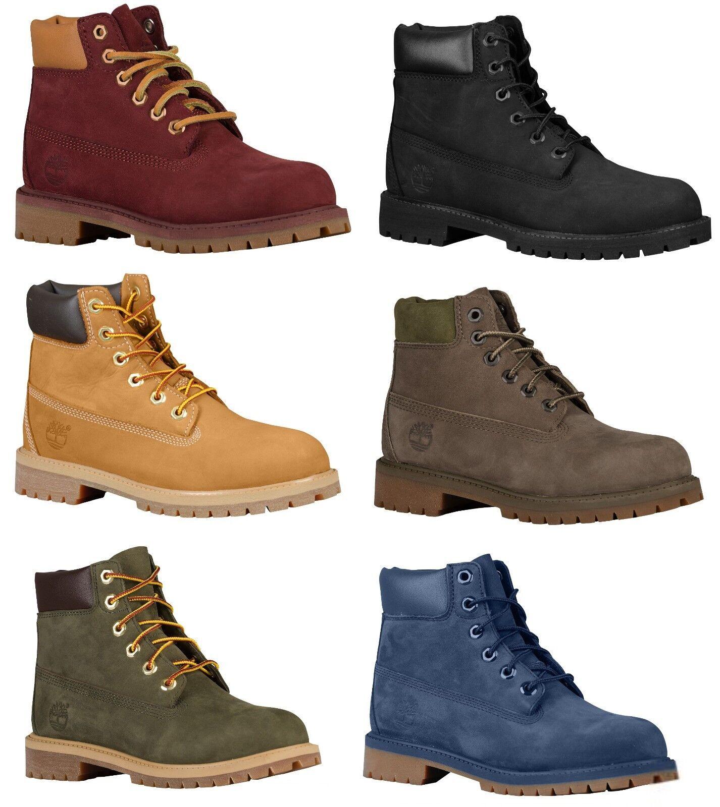 "Timberland  6"" PREMIUM WATERPROOF BOOTS Boys' Grade School Youth GS Kids Boots"