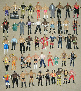 WWE-WRESTLING-ACTION-FIGURE-CLASSIC-SERIES-JAKKS-TNA-MARVEL-ELITE-MATTEL-WWF-WCW