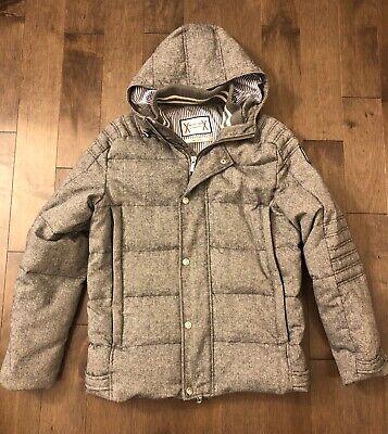 $3800 MONCLER GAMME BLEU Wool/Down Jacket Size 3