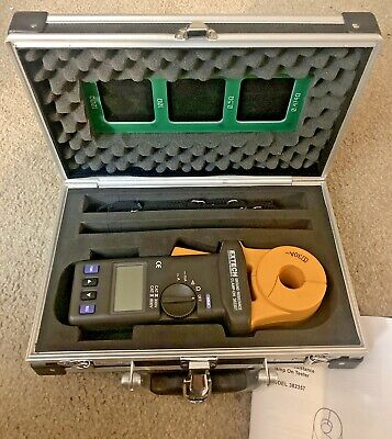 Extech Clamp-on Ground Resistance Tester 382357 Electrical Test Meter